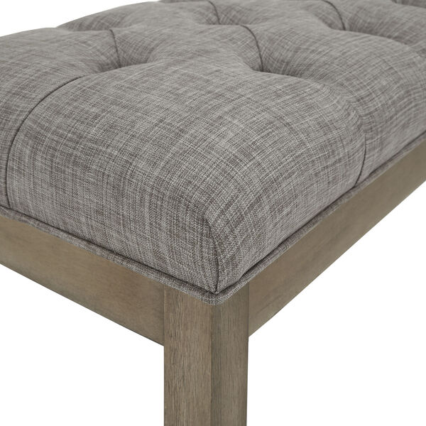 Amy Gray Tufted Reclaimed Uphlstered Bench, image 4