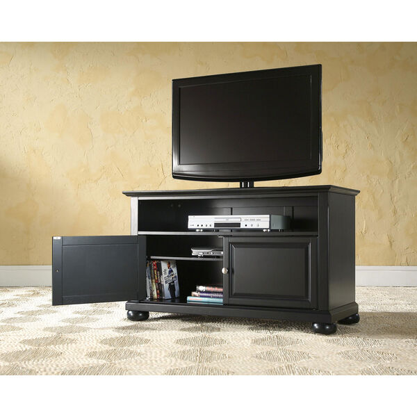 Alexandria 42-Inch TV Stand in Black Finish, image 4
