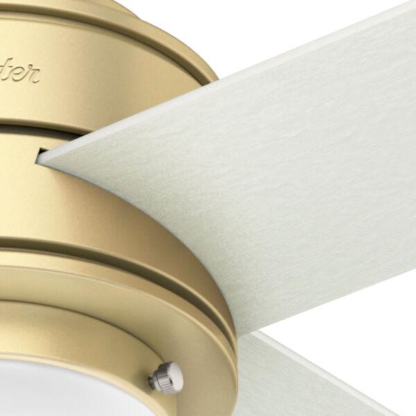 Hepburn Modern Brass 44-Inch LED Ceiling Fan, image 6