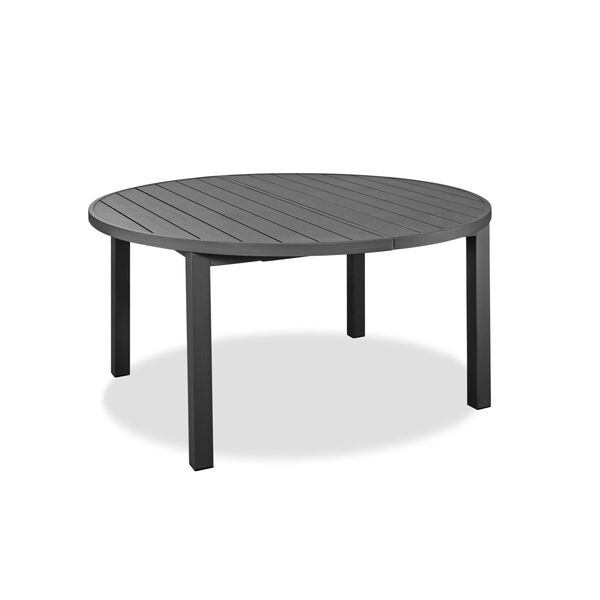 Aloha Gray Outdoor Oval Dining Table, image 1