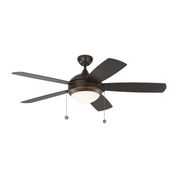 Discus Outdoor Roman Bronze 52-Inch LED Outdoor Ceiling Fan, image 1