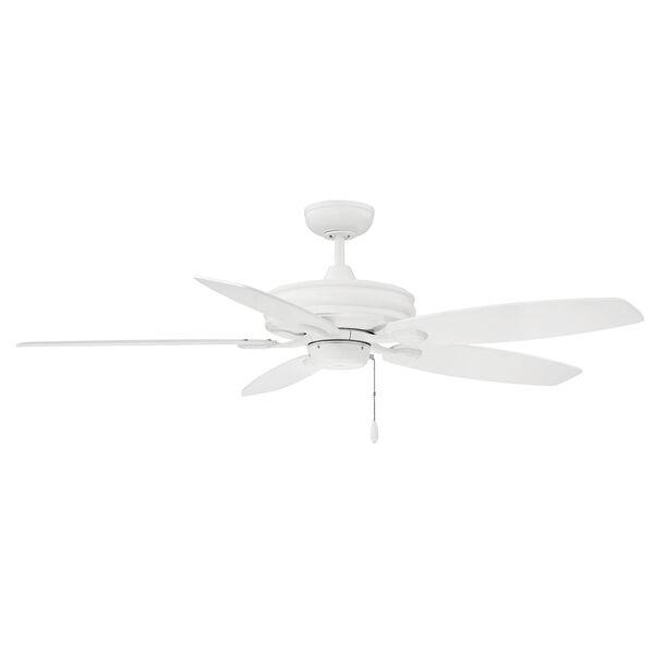 Kentwood White  Five-Blade Ceiling Fan, image 2