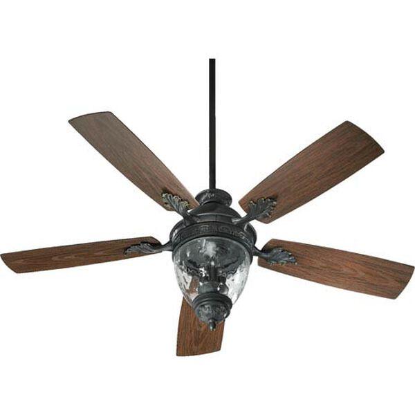 Woodland Bronze 52-Inch Three-Light Ceiling Fan, image 1