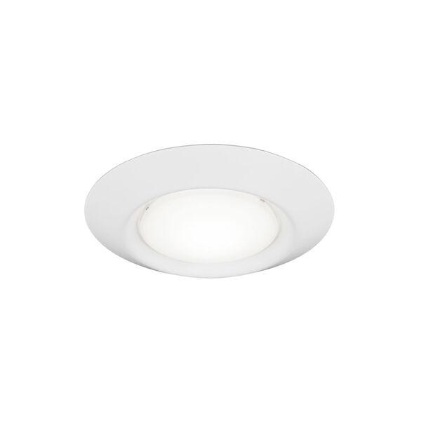 Traverse White Four-Inch T24 3000K 90 CRI LED Recessed Light, image 1