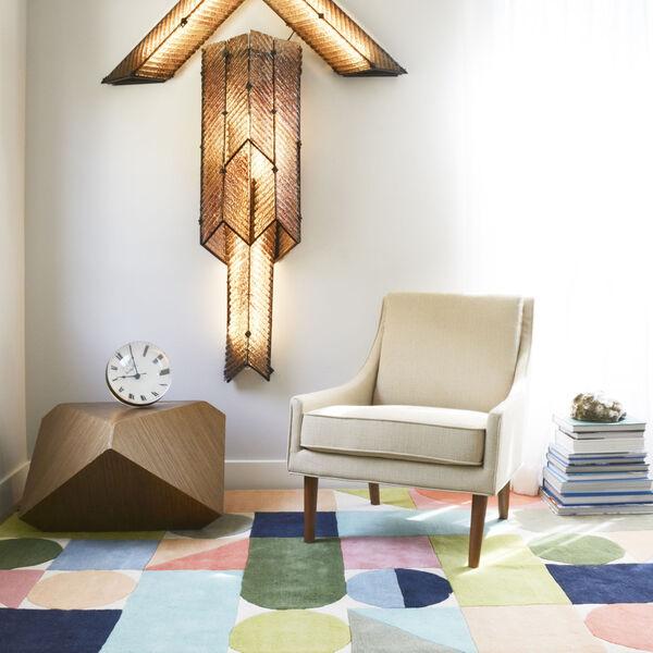 Delmar Wright Multicolor Rectangular: 3 Ft. 6 In. x 5 Ft. 6 In. Rug, image 2