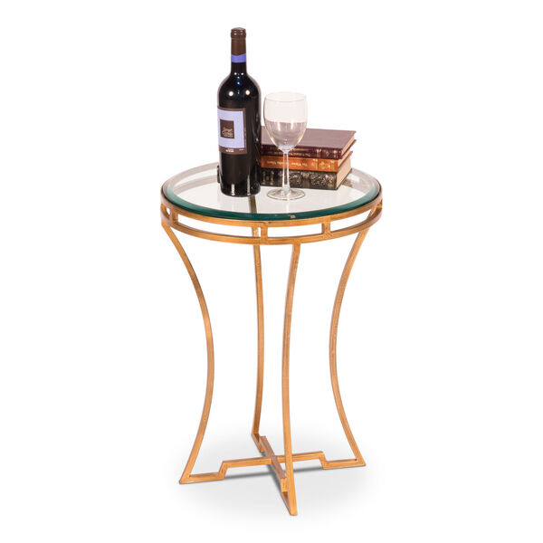 Gold 16-Inch Table, image 2