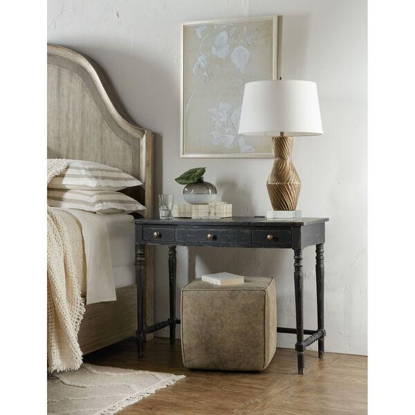 Alfresco Black Vanity Desk, image 3