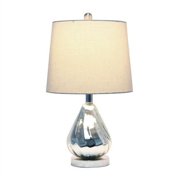 Cerise Chrome Gray One-Light Table Lamp, image 2