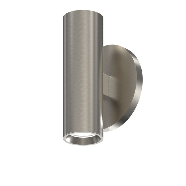 ALC Satin Nickel One-Light LED ADA Wall Sconce with Bezel Trim, image 1