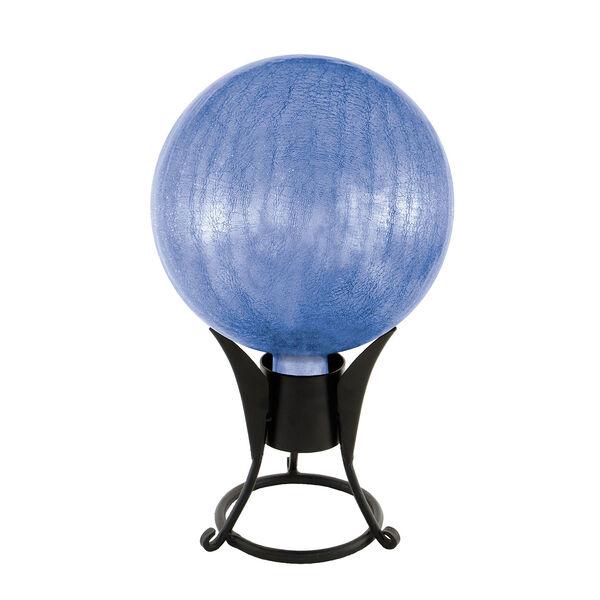 10 Inch Gazing Globe, Blue Lapis, Crackle, image 2
