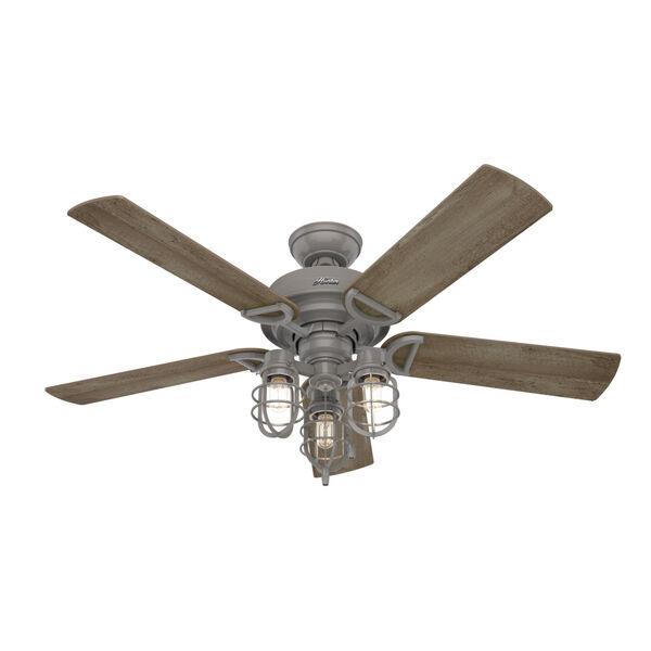 Starklake Quartz Grey 52-Inch Outdoor LED Ceiling Fan, image 6