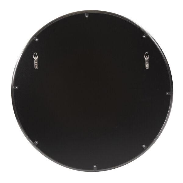 Yorkville Brushed Titanium 32-Inch Round Wall Mirror, image 4