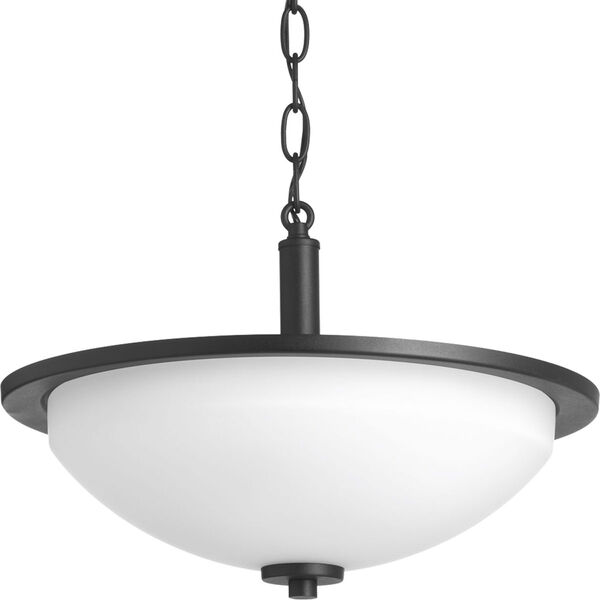 P3424-31 Replay Black 15-Inch Two-Light Pendant, image 1