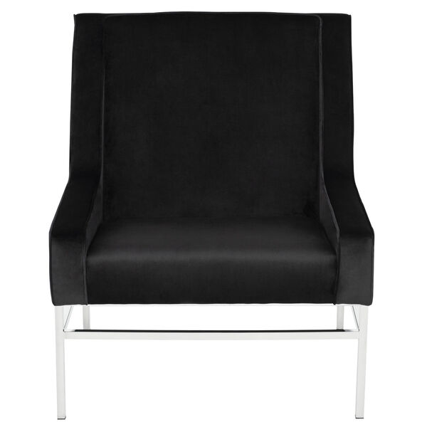 Theodore Black and Silver Occasional Chair, image 6