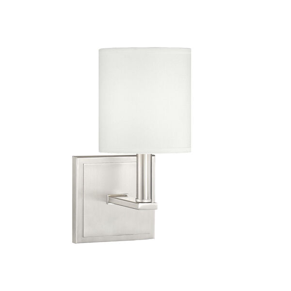Waverly Satin Nickel One-Light Sconce, image 2