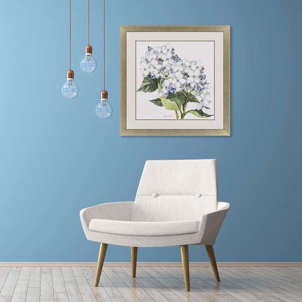Full Bloom II White Framed Art, image 1