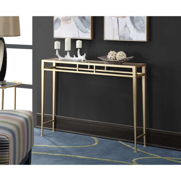 Monroe Gold Console Table, image 3