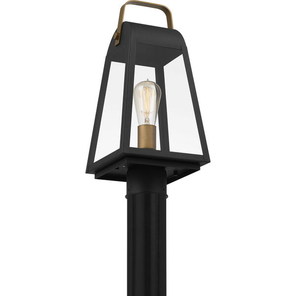 O-Leary Earth Black One-Light Outdoor Post Mount, image 5