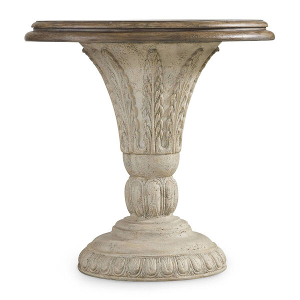 Solana Round Accent Table, image 1