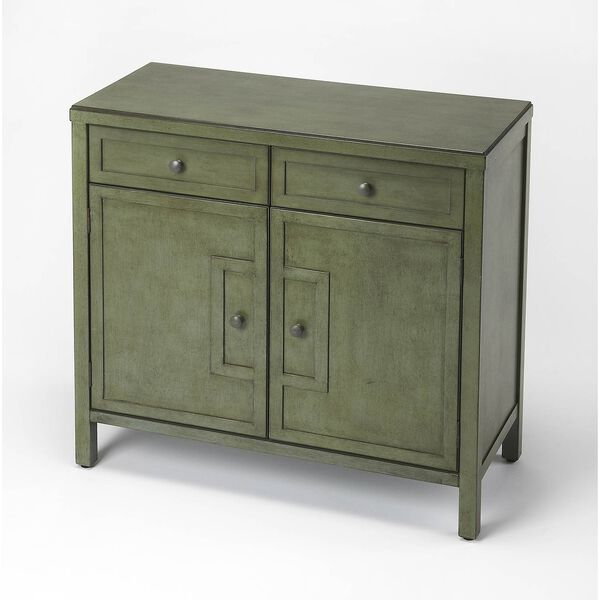Butler Imperial Green Console Cabinet, image 1
