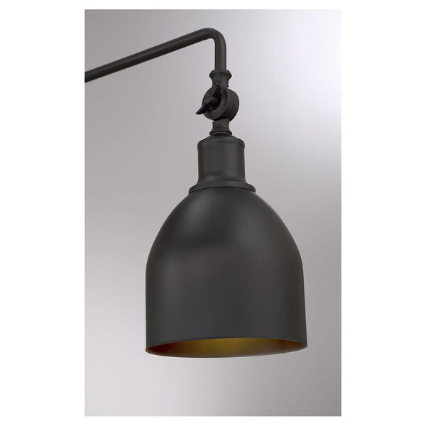 River Station Oil Rubbed Bronze One-Light Wall Sconce, image 6