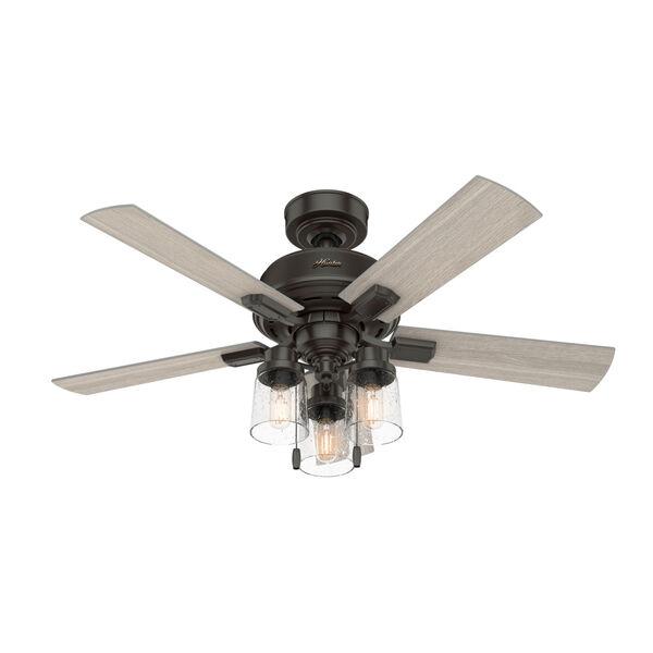 Hartland Noble Bronze 44-Inch LED Ceiling Fan, image 1
