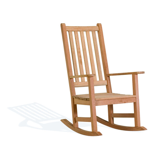 Classic Natural Patio Rocking Chair, image 1