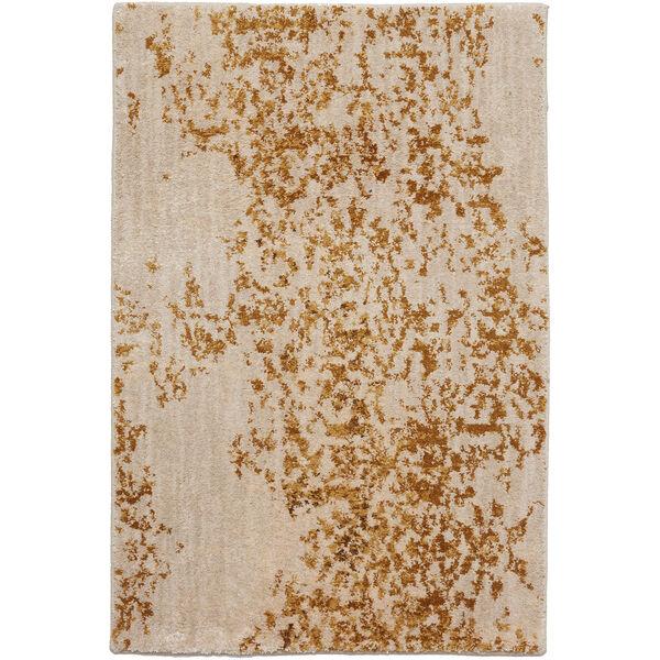 Cosmopolitan Nirvana Brushed Gold Antique White Rug, image 1