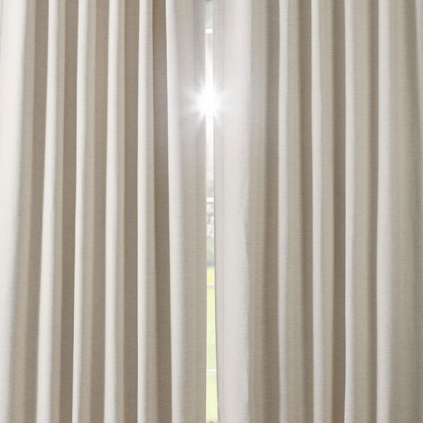 Bellino Cottage White 50 x 120-Inch Blackout Curtain, image 6