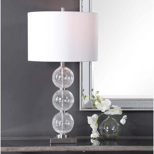 Vivian Brushed Nickel 29-Inch One-Light Table Lamp, image 2