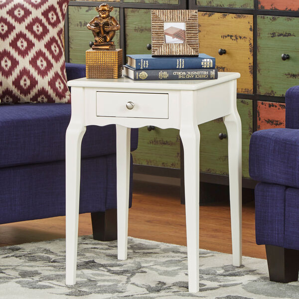 Eugenia 1-Drawer End Table, image 1