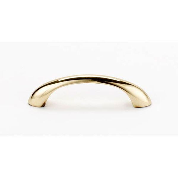 Polished Antique Brass 6-Inch Pull, image 1