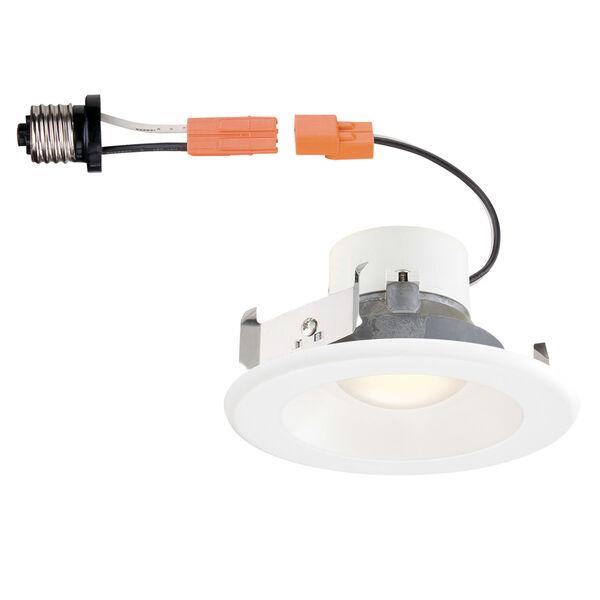 White 10W 4000K 892 Lumen LED Recessed Light, image 1