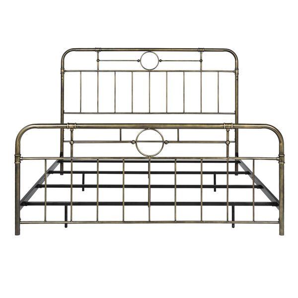 King Bronze 84-Inch Bronze Metal Pipe Bed, image 4