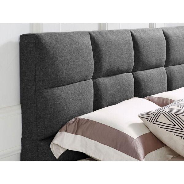 Melanie Grey Full Bed, image 4