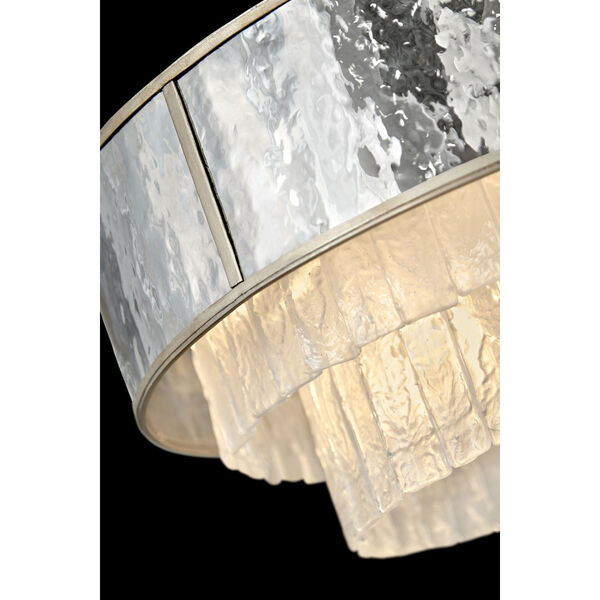 Reverie Champagne Gold 26-Inch Eight-Light Chandelier, image 3