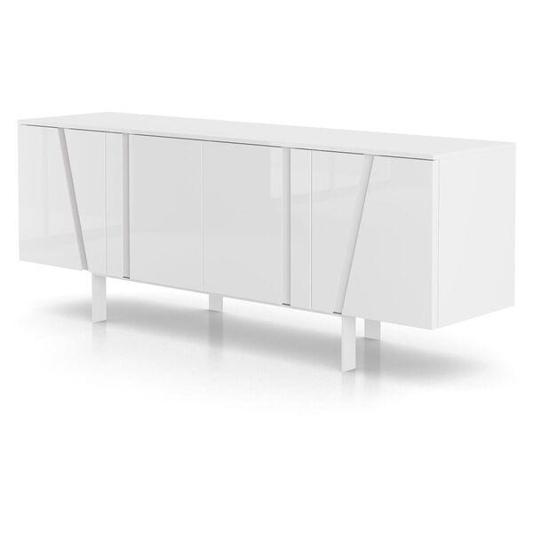 Mott Glossy White Sideboard, image 8