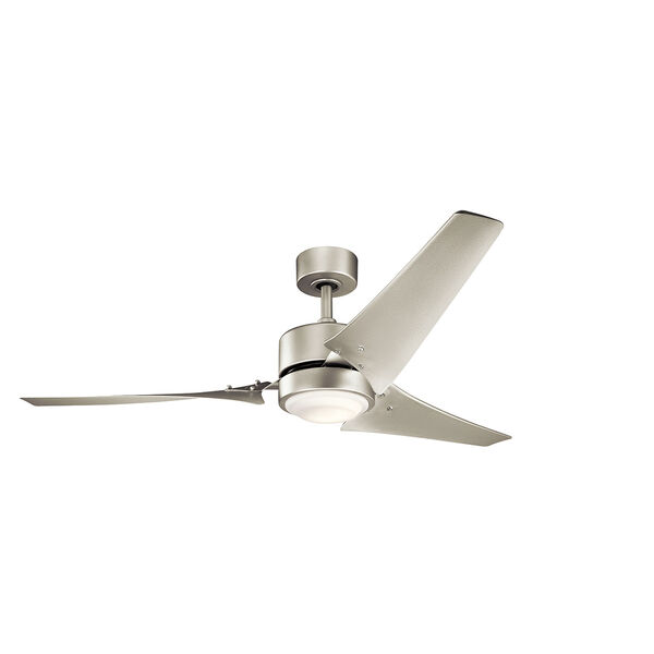 Rana Brushed Nickel 60-Inch Wet Location LED Ceiling Fan, image 1