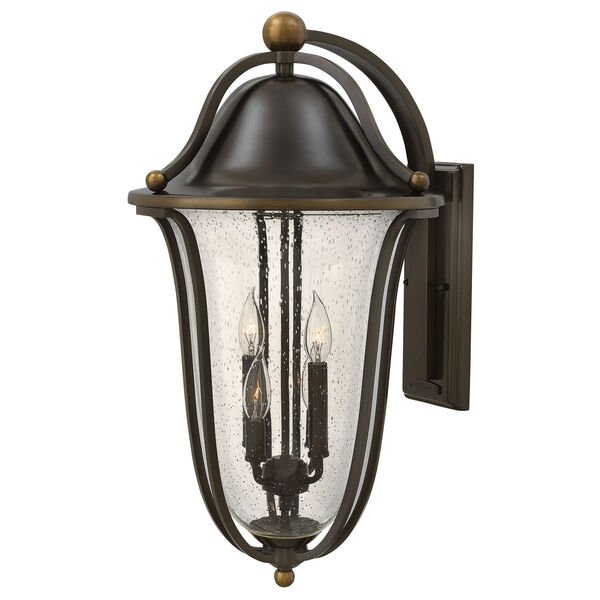 Bolla Olde Bronze Four-Light Outdoor Wall Sconce, image 1