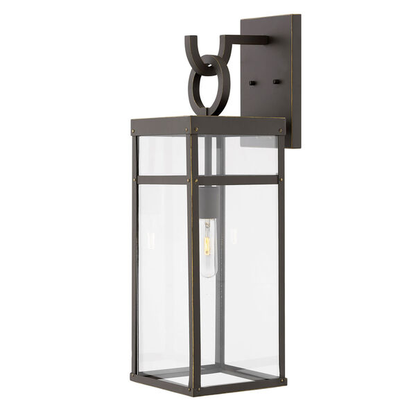 Porter Oil Rubbed Bronze 25-Inch One-Light Outdoor Wall Sconce, image 1