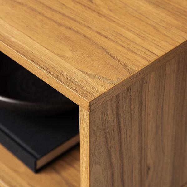 Jackson English Oak and Black Slat Door Coffee Table, image 5
