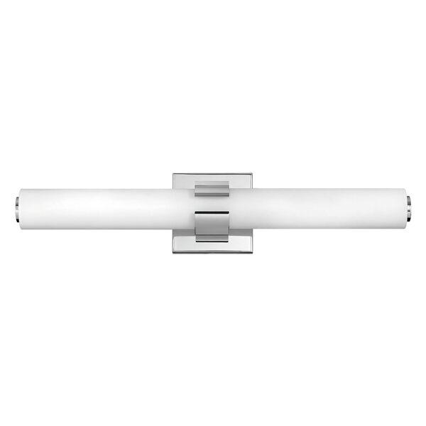 Aiden Chrome 22-Inch LED ADA Bath Sconce, image 1
