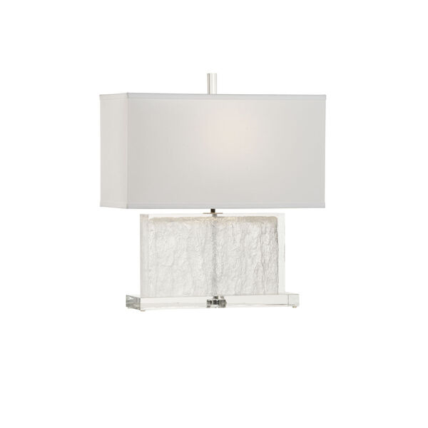 Selena Clear and Polished Nickel Table Lamp, image 5