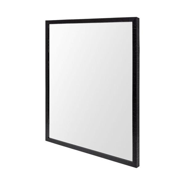 Black 32-Inch Wall Mirror, image 3