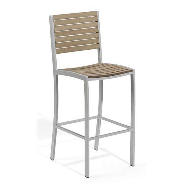 Travira Vintage Tekwood Bar Chair, image 1