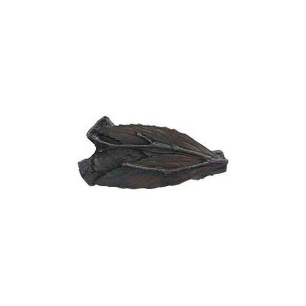 Dark Brass Leafy Twig Knob , image 1