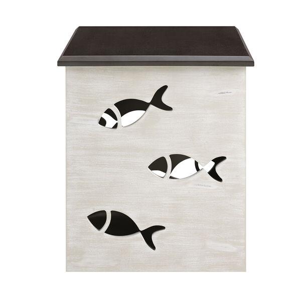 Camila Cream Square Fish Table, image 4