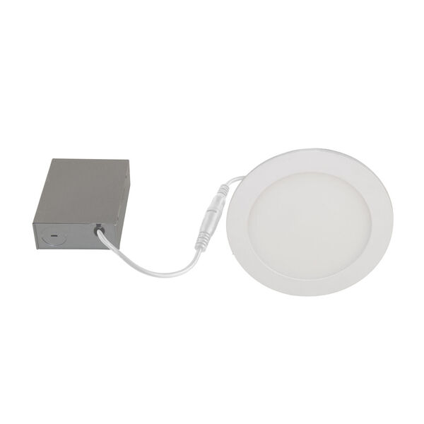 White Wi-Fi RGB LED Recessed Fixture Kit, Pack of 4, image 4