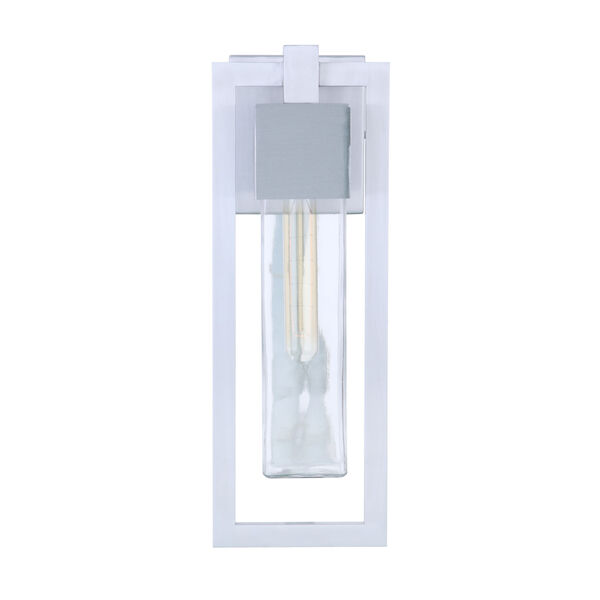Perimeter Satin Aluminum 19-Inch One-Light Outdoor Wall Sconce, image 4