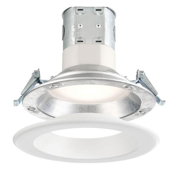 White 12W 3000K 870 Lumen LED Recessed Light, image 1